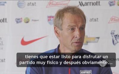 """Klinsmann: """"Jugaremos nuestras cartas y mostraremos nuestras cualidades"""""""