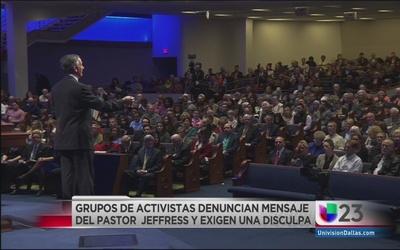 Indignación y rechazo por declaraciones de pastor