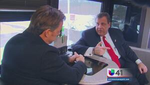 Chris Christie regresa a New Jersey tras primarias