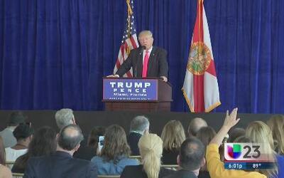 Donald Trump motiva a Rusia a seguir actos de espionaje