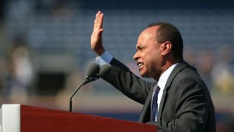 El congresista Luis Gutiérrez (demócrata de Illinois), integra el Grupo...