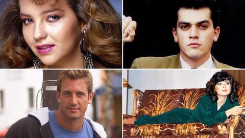 Así se veían los actores en sus primeras telenovelas