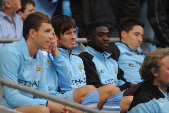 En otro de los partidos, Manchester City recibió al Aston Villa....