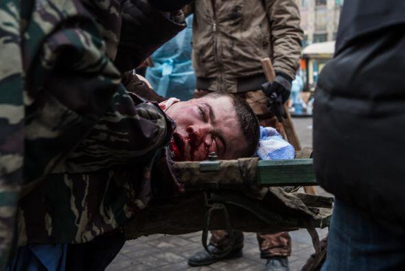El 31 de enero apareció el activista de oposición Dmytro Bulatov, desapa...