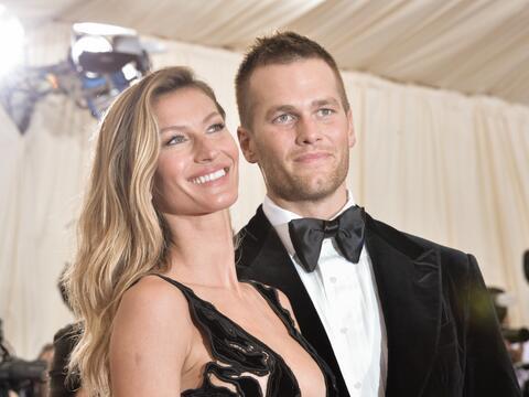 Gisele Bünchen y Tom Brady