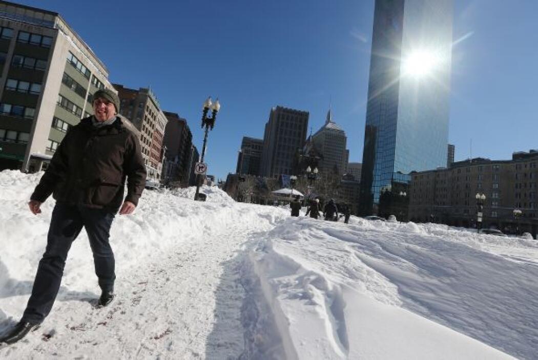 En Boston, capital de Massachusetts, murió un niño de 11 años se asfixió...
