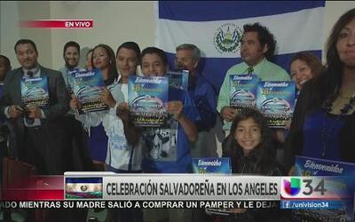 ¡Salvadoreños celebran las Fiesta Agostinas!