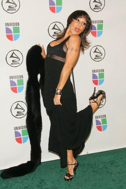 """El 2006 marcó el gran regreso de Alejandra Guzmán con su disco """"Indelebl..."""