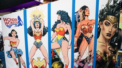 La Mujer Maravilla es una presencia obligada en el Comic-Con que se llev...