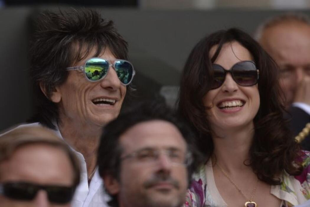 o Ronnie Wood de los Rolling Stones.