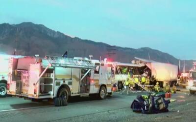 Sobrevivientes siguen conmocionados por brutal accidente en Palm Springs