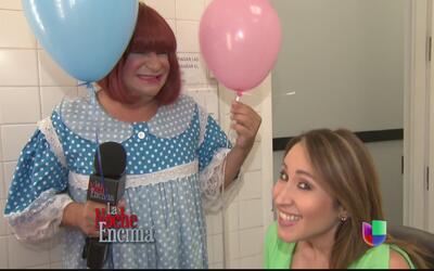 Chiquitota quiere saber si Milly Méndez tendrá nene o nena