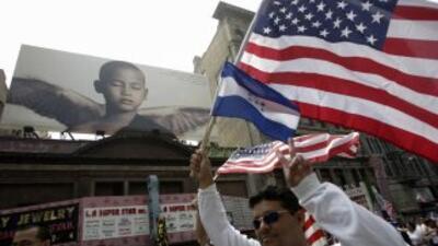 Los salvadoreños en Los Ángeles están velando por sus intereses y la for...