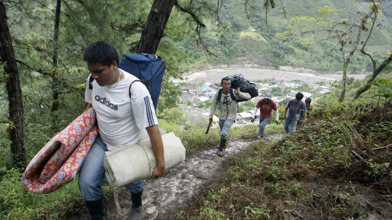 Los sistemas de alerta temprana permitieron la evacuación de la població...