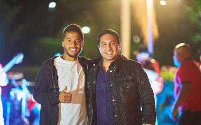 Julion Alvarez y giovani dos santos