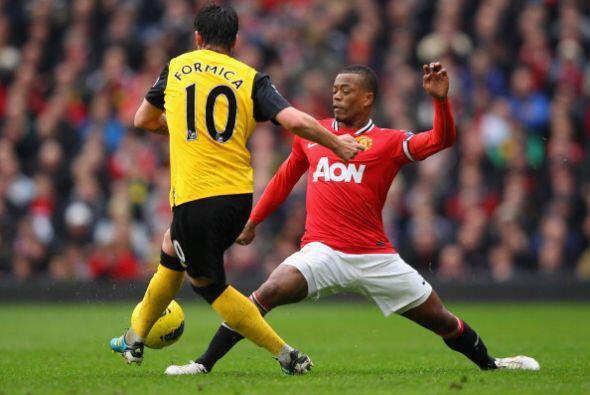 Manchester United recibió la visita del Blackburn en un partido q...