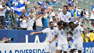 Honduras superó 2-0 a los Ticos