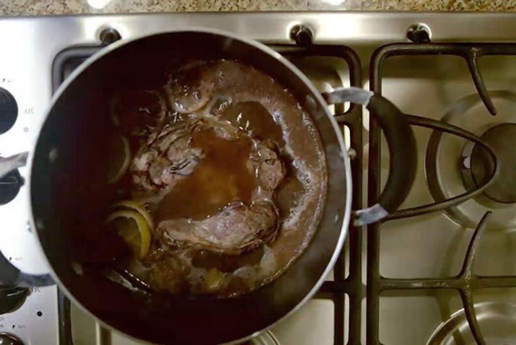 También Trianna le demostró al doctor Juan cómo cocina una placenta al v...