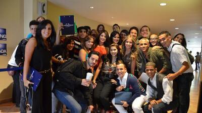 Los puertorriqueños llegaron a demostrale su talento y capacidad a los j...
