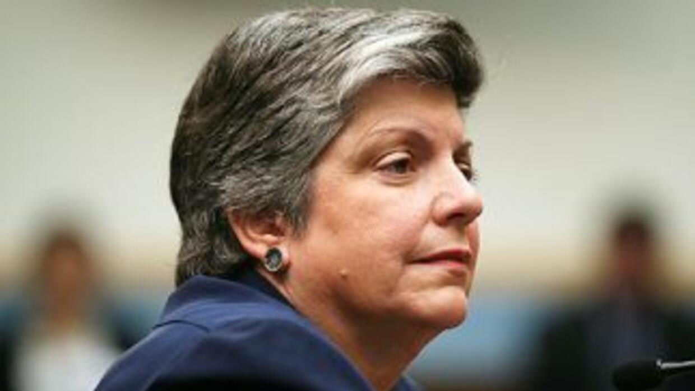 La jefa de la seguridad de Estados Unidos, Janet Napolitano, detalló al...