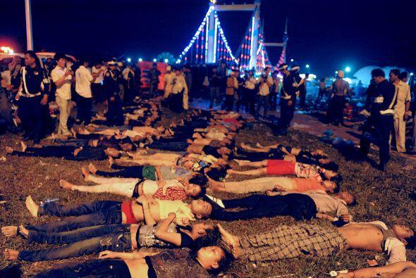Los hechos se registraron en Phnom Penh, capital de Camboya,  durante el...