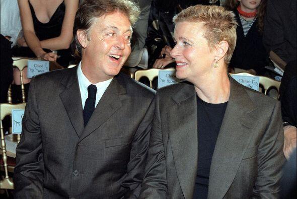 Ella y Paul se casaron el 12 de marzo de 1969, el cáncer separ&oa...