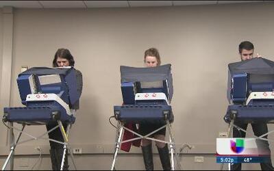 Alta la participación electoral en Illinois