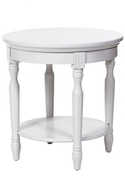 Una mesa de apoyo. Coloca una pequeña mesa cerca de la silla mece...