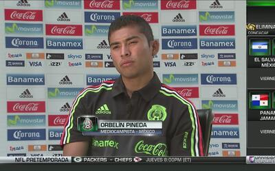 """Orbelín Pineda y el 7-0: """"El profesor dice que gracias a eso podemos res..."""