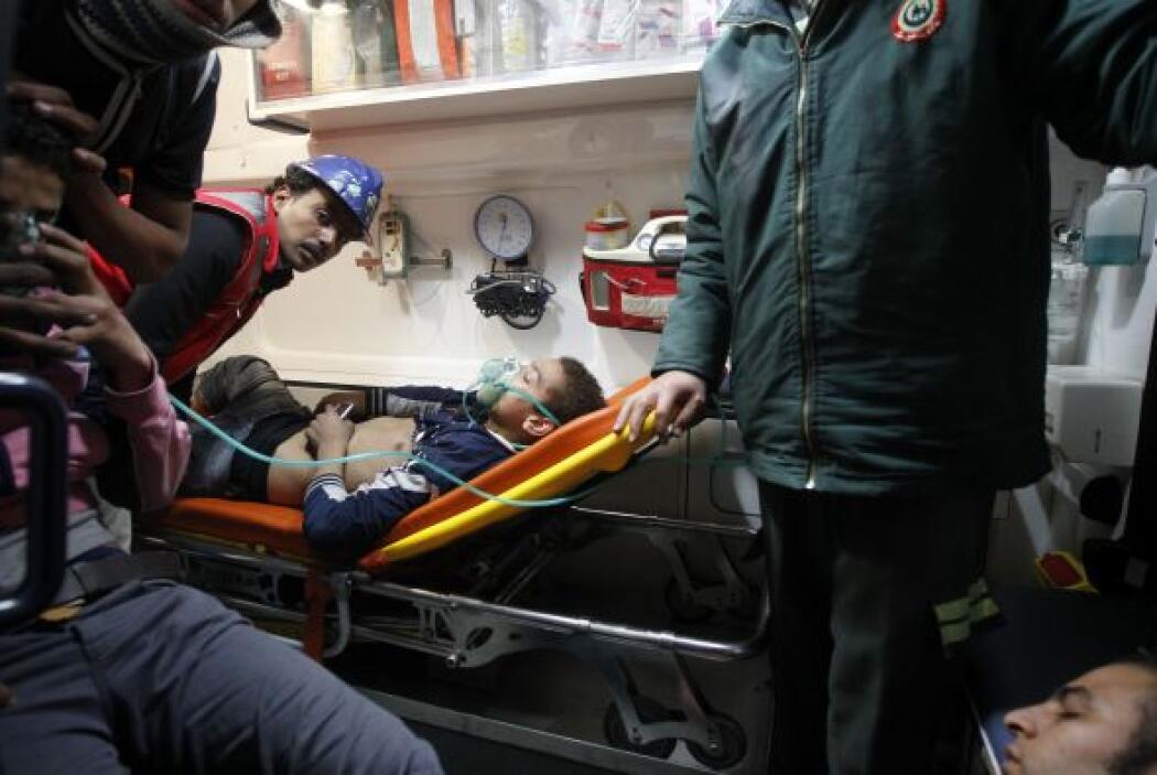 Todos los heridos han sido trasladados a los hospitales, afirmó Omar, qu...