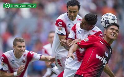 Al minuto Atlas vs. Veracruz