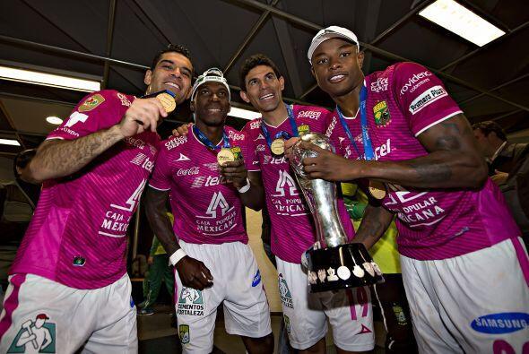 León es el vigente campeón del fútbol mexicano tras derrotar en el Claus...