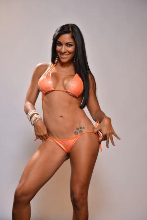 Ella es Tatiana Cruz, es modelo profesional, bailarina y 'bar tender'.