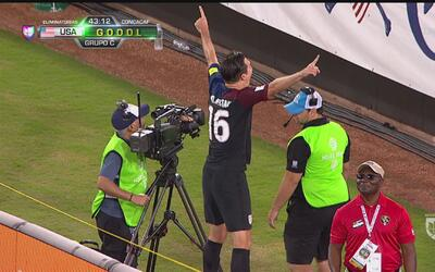 Gol de Sacha Kljestan, Estados Unidos ya le gana a Trinidad y Tobago