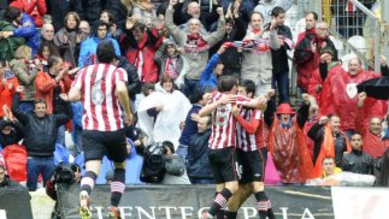 De Marcos anotó pata el Athletic.