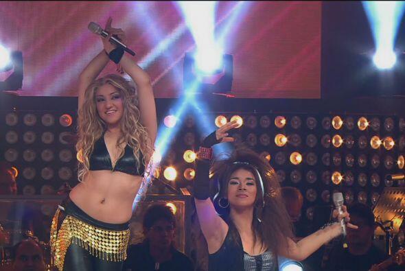 Al final, el dueto de Angélica Vale estuvo conformado por Shakira y Glor...