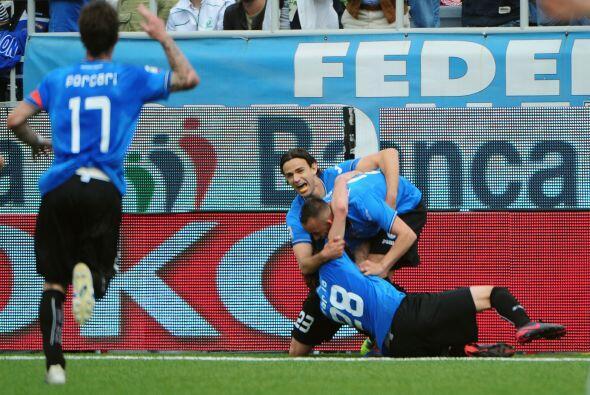 Pero no contaban con que Giuseppe Mascara consiguiera un gol que le dier...