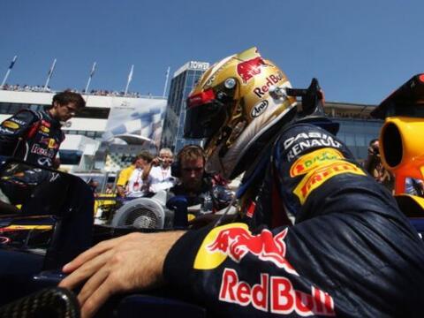 El británico Lewis Hamilton (McLaren-Mercedes), que salió en 'pole posit...