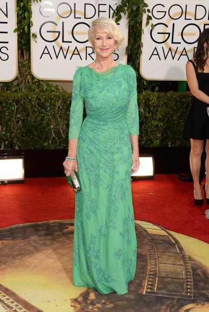 Para su edad, Helen Mirren lució bastante bien. Esta famosa sabe...