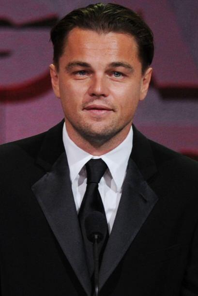 Para sorpresa de muchos, Leonardo DiCaprio no está en los primero...