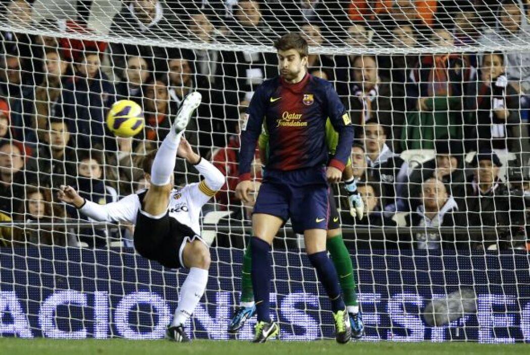 Valencia quiso llevarse el triunfo a como diera lugar.