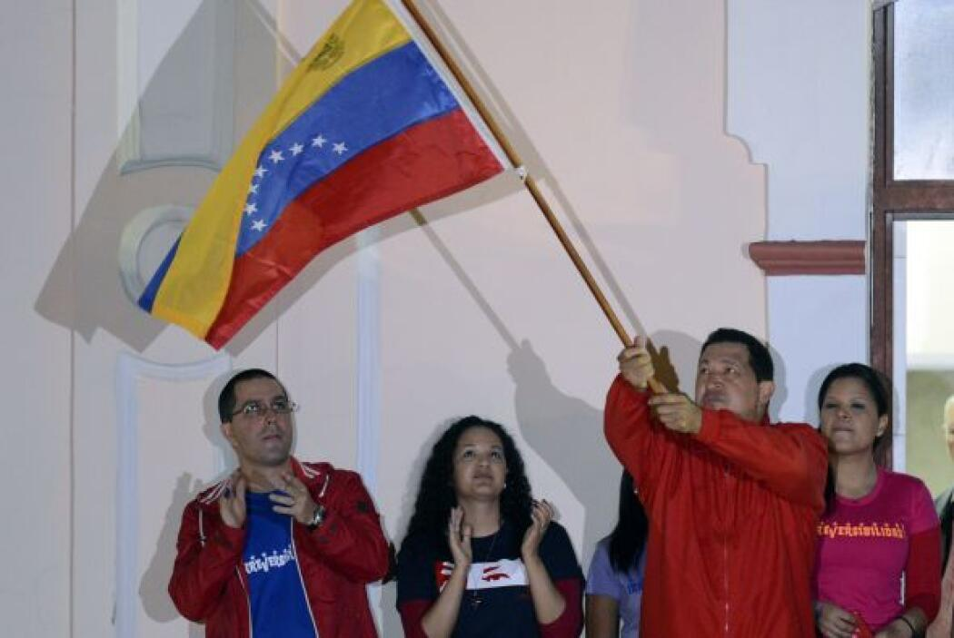 El presidente venezolano, de 58 años y desde 1999 en el poder, felicitó...