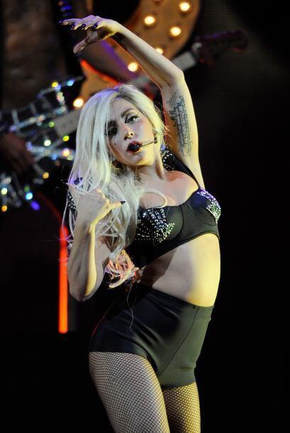 Lady Gaga es un verdadero festín para la pupila de los caballeros, pues...