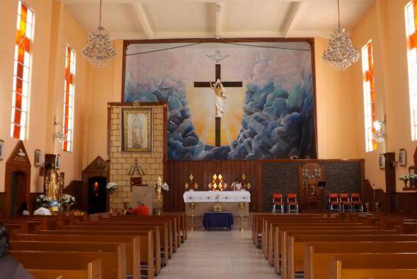 Iglesia de Nuestra Señora de Guadalupe en El Sifón, México DF.