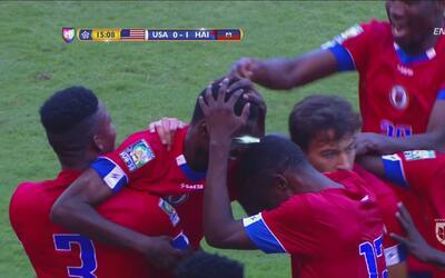 Dede define de manera extraña y pone a Haití 1-0 sobre Estados Unidos
