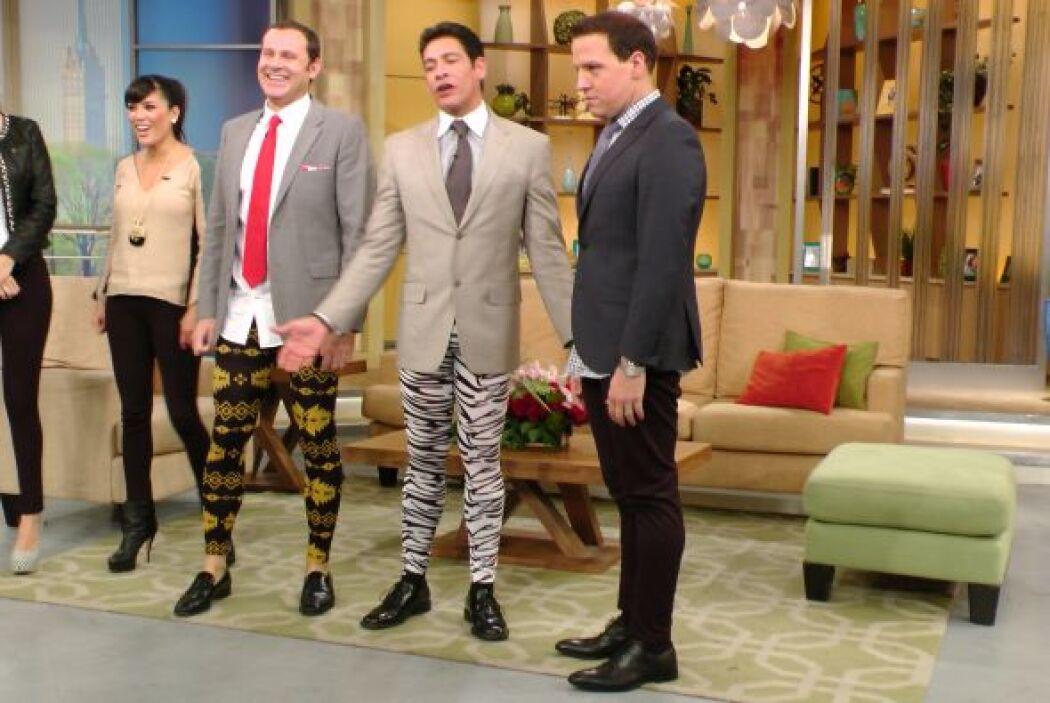 ¿Adivinen quién se animó a cambiar los jeans por los leggins?