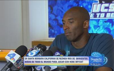 Kobe Bryant en campaña contra el bullying en Santa Bárbara