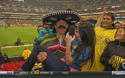 Kevin Arnulfo recibió al 'Bigotón' en su debut con el América
