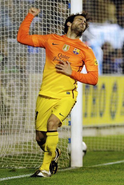 El catalán firmó el 3-0 y sacó un cúmulo de emociones con ese tanto.