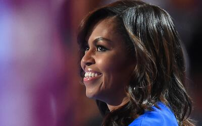 El maquillaje que Michelle Obama mostró durante la pasada Convenc...